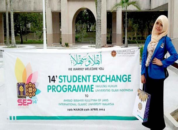 Sheila Maulida Fitri Raih The Best Speakers at IIUM