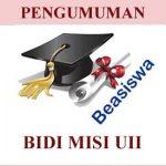 PENGUMUMAN BEASISWA, Daftar Penerima Beasiswa Peningkatan Prestasi Akademik Mahasiswa 2017 Periode Januari-Juni 2017